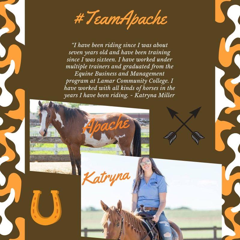#TeamApacheKatryna