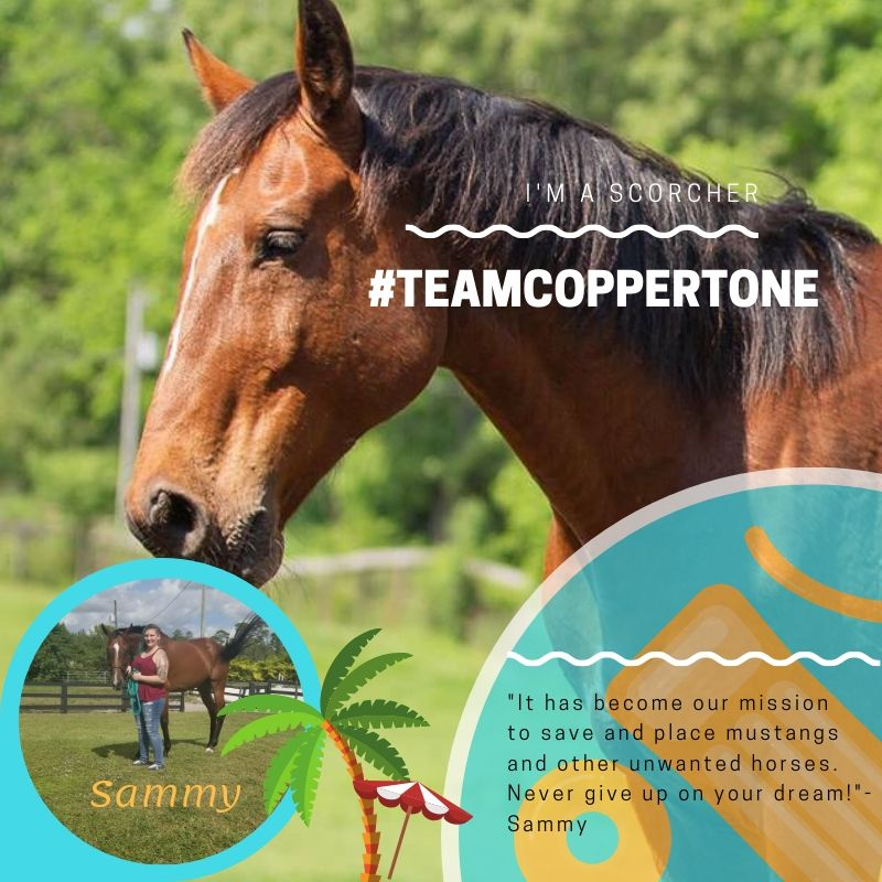 #TeamCoppertone
